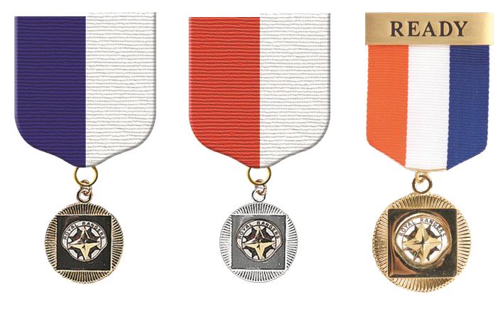 Adventure Ranger Medals