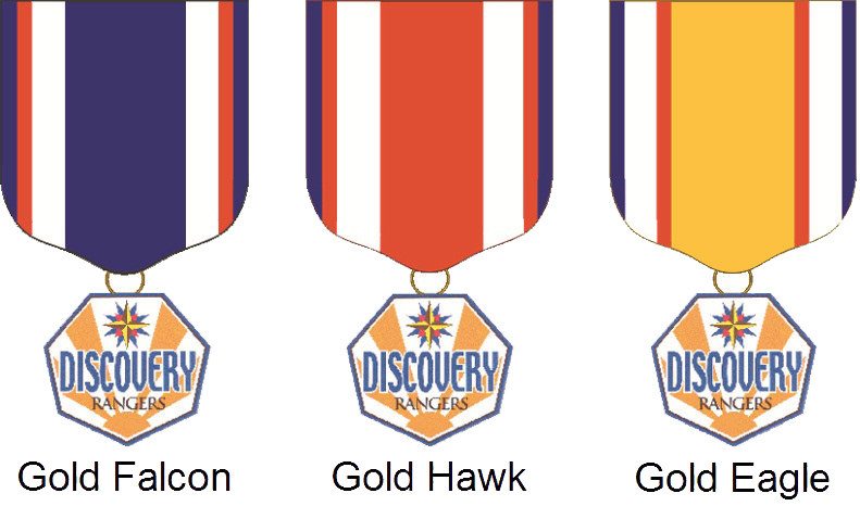 Discovery Rangers Medals